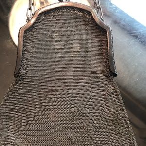 Handbags - Vintage metal evening bag